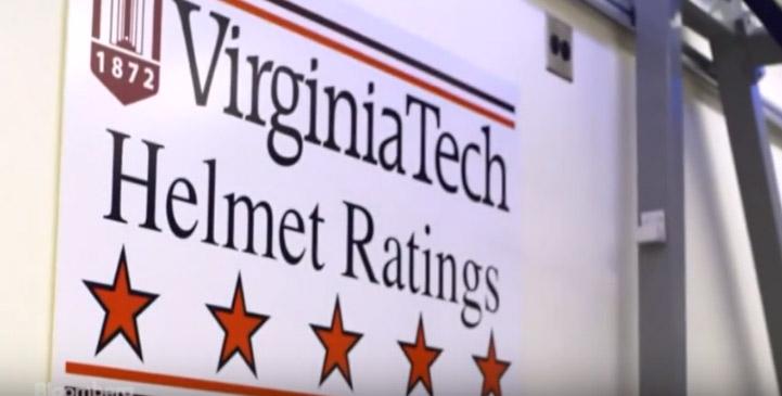 Virginia Tech e os testes de capacetes de futebol americano