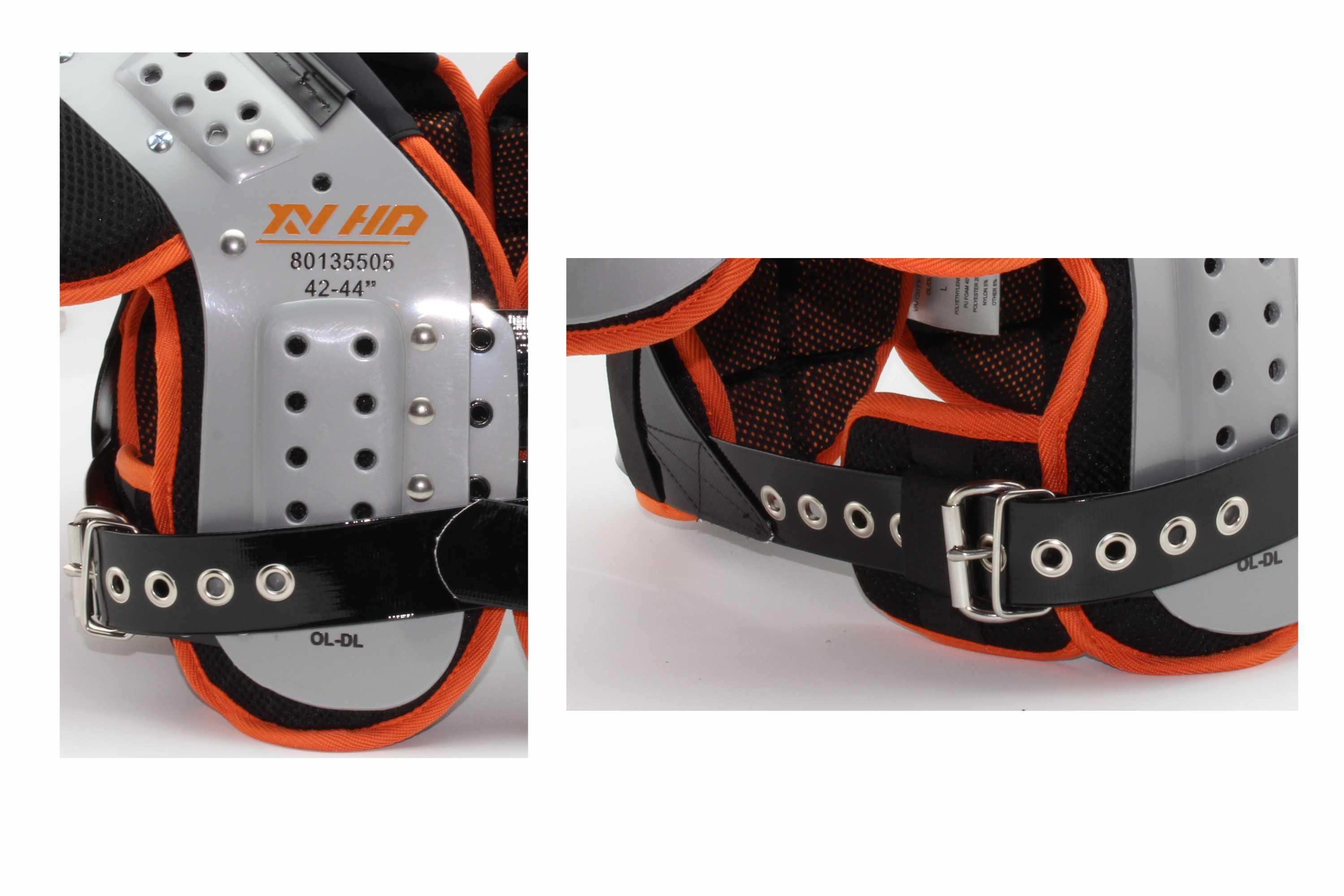 Shoulder Pad de futebol americano adulto XV HD OL-DL