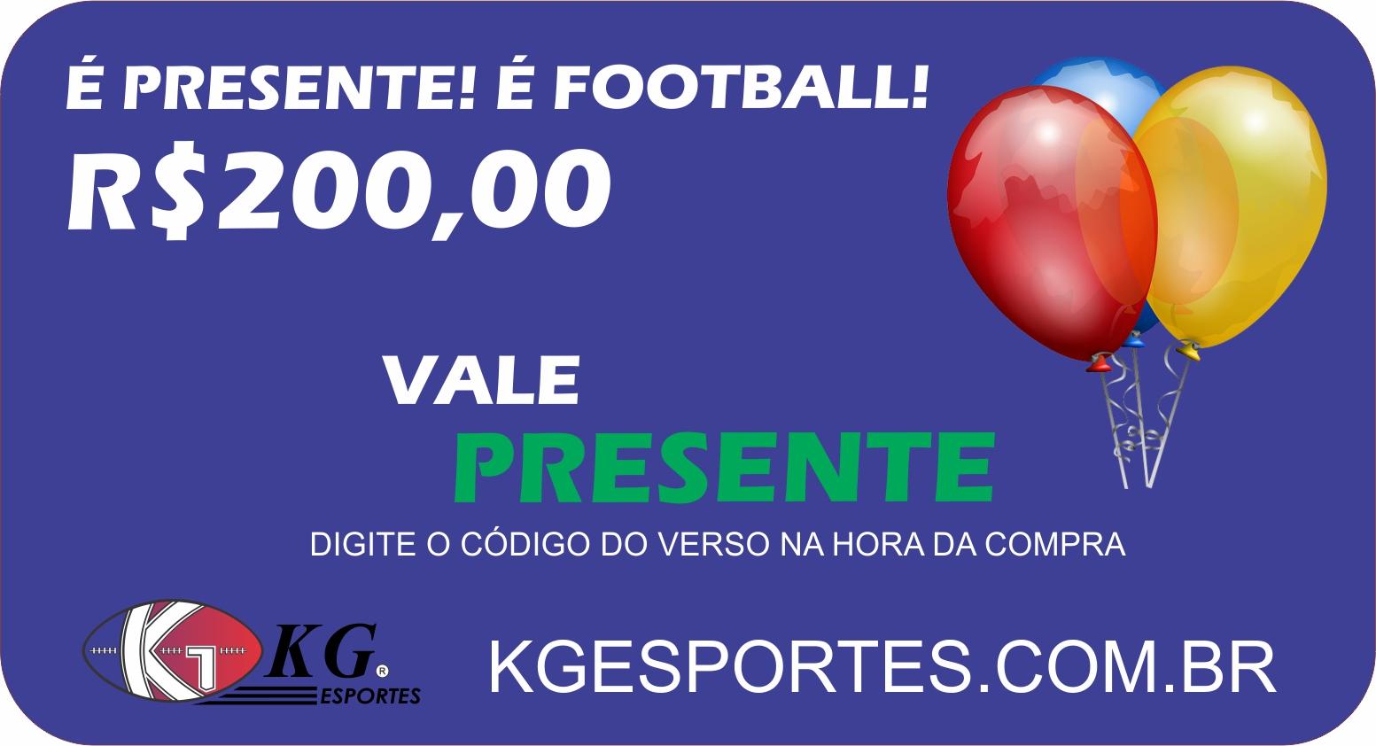 Vale-presente KG Esportes (R$ 200,00)