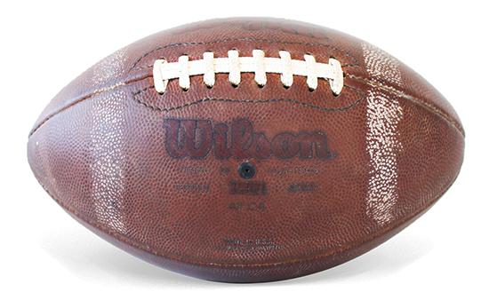 Bola Wilson NCAA 1001 Couro oficial - usada
